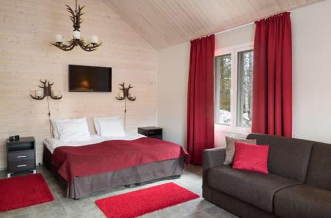 Santa Claus Holdiay Village, cabaña estándar