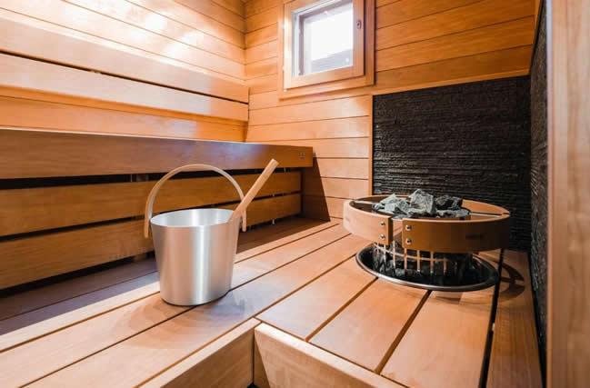 Parkside Pyhä, sauna