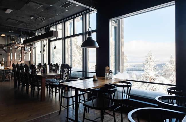 Hotel Pyhätunturi, restaurante