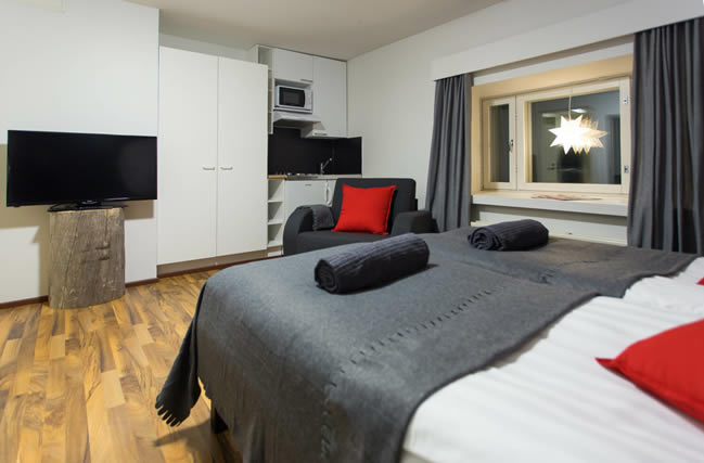 Apukka Resort, apartamento, habitación