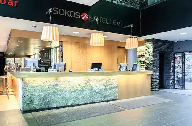 Hotel Sokos Levi, recepción
