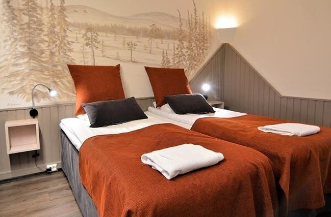 Hotel Ylläsrinne, habitación doble