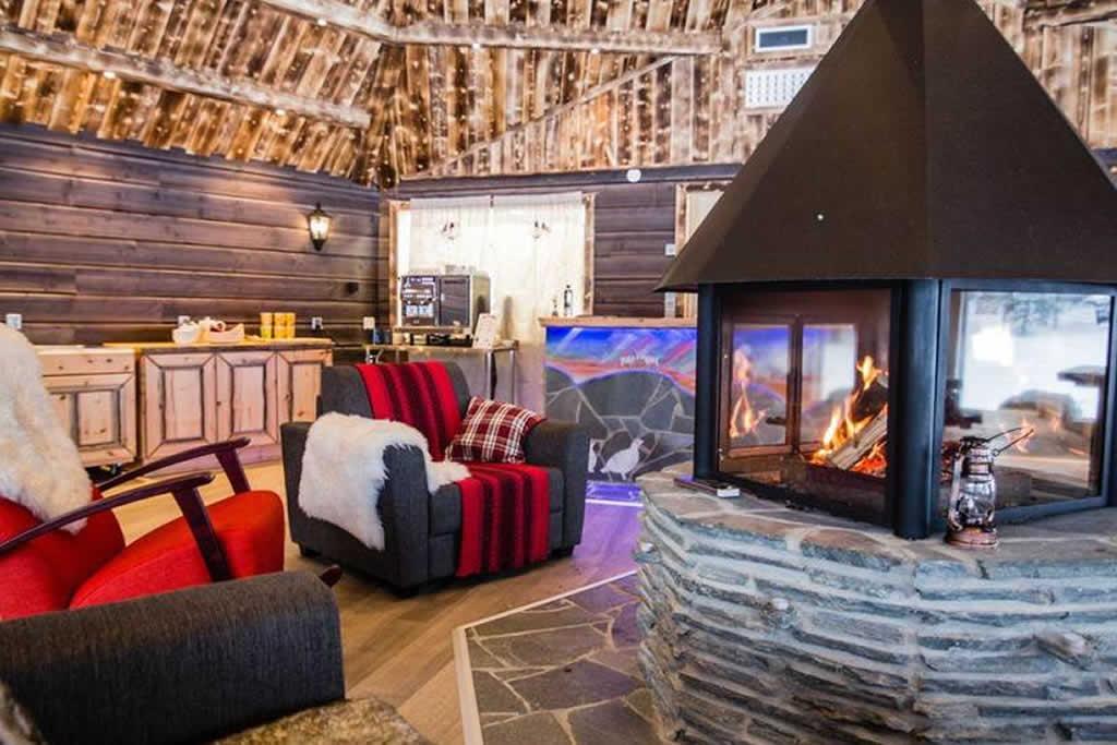 Aurora Village, interior
