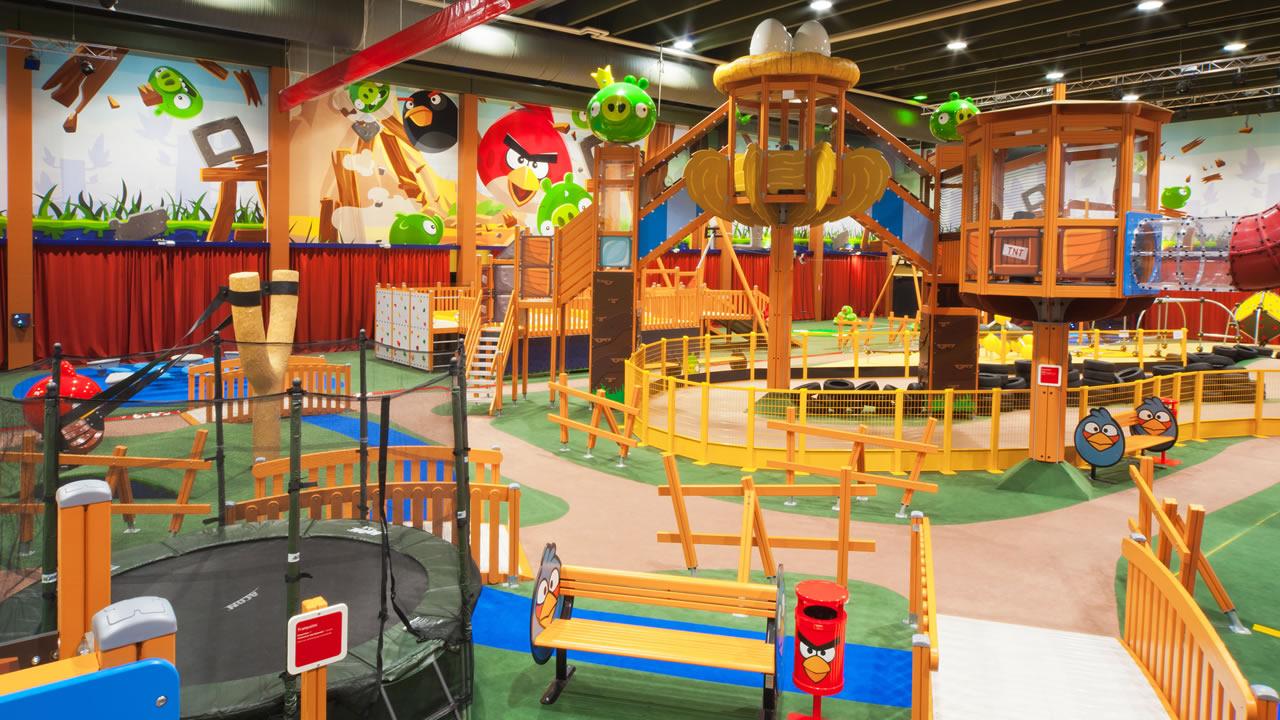 Holiday Club Kuusamon Spa Tropiikki, Angry Birds Park