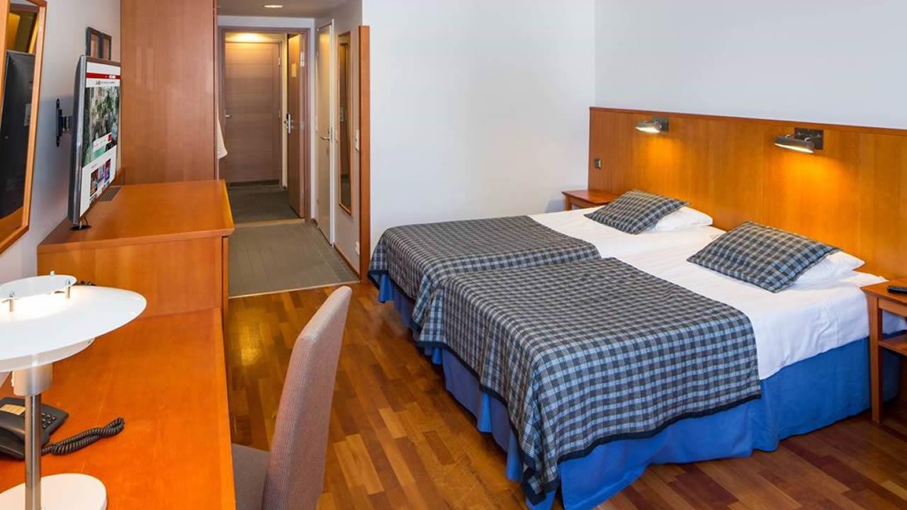 Holiday Club Kuusamon Spa Tropiikki, habitación familiar 28 m2