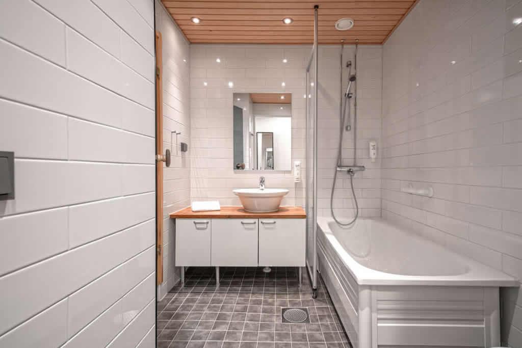 Apartamentos Rukavillage, baño