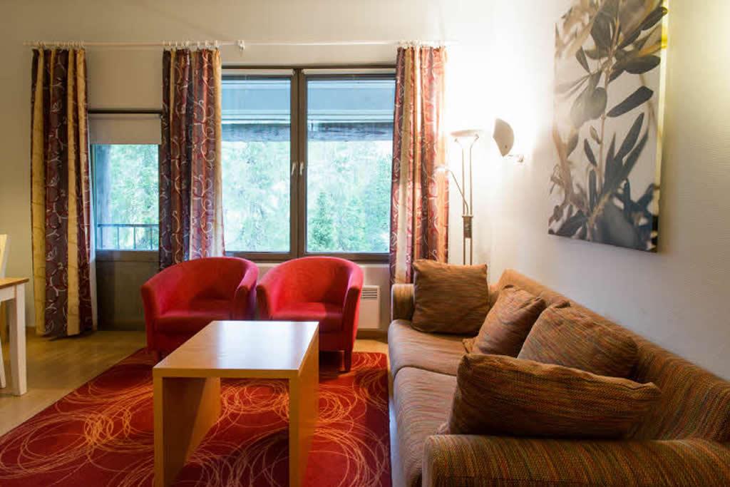 Scandic Rukahovi, apartamento, salón