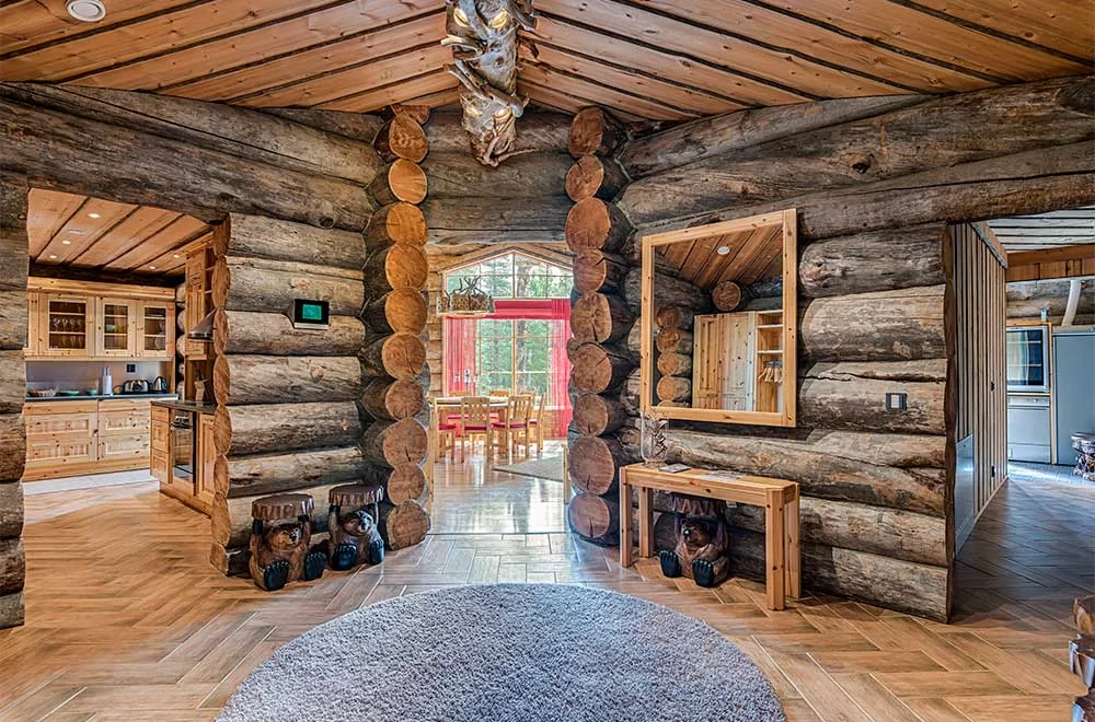 Rukan Salonki, cabañas 170 m2, interior