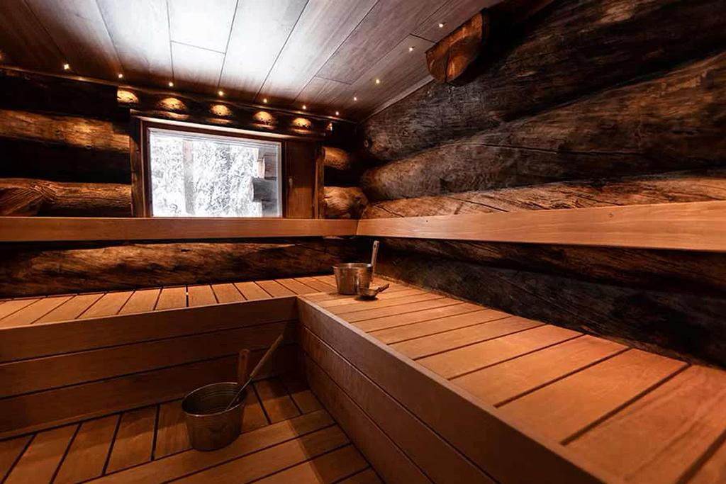 Rukan Salonki (RS4), sauna