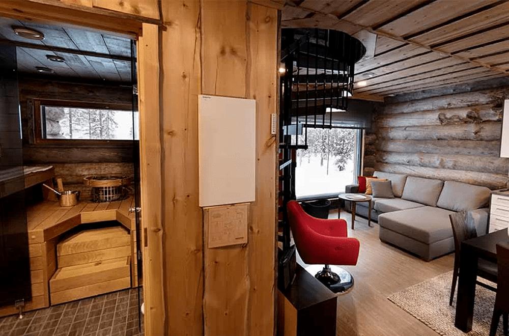 Rukan Salonki, villas apartamentos, 55 m2, interior