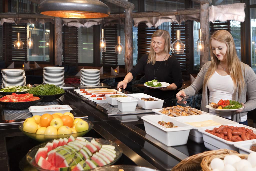 Holiday Club Saariselkä, restaurante-buffet
