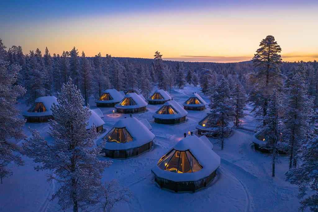 Wilderness Hotel Muotka, Aurora Cabin
