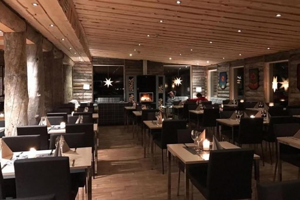 Wilderness Hotel Muotka, restaurante