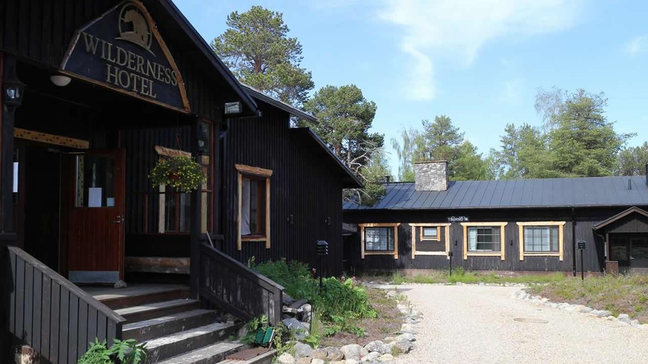 Wilderness Hotel Nellim, entrada