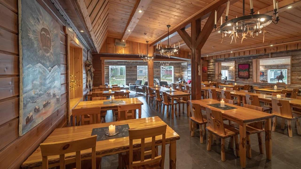 Wilderness Hotel Nellim, restaurante