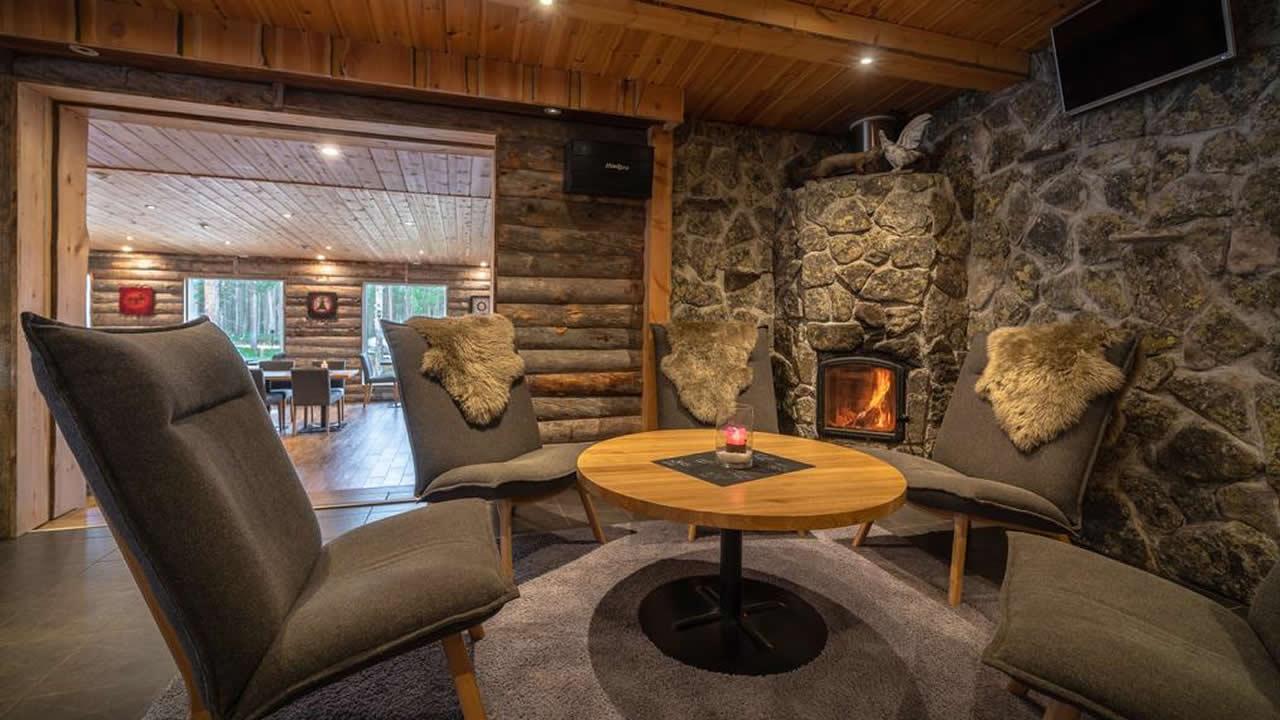 Wilderness Hotel Nellim, zona de descanso