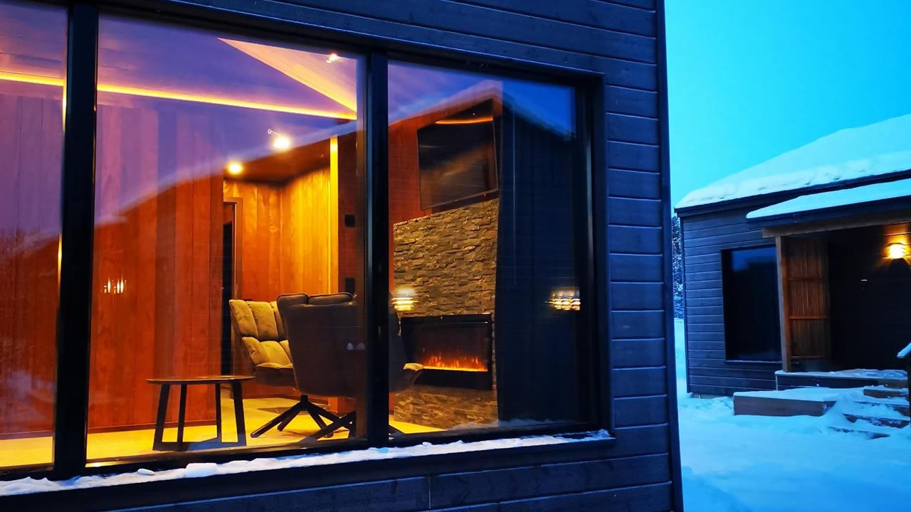 Wilderness Inari Hotel, Artic Chalets