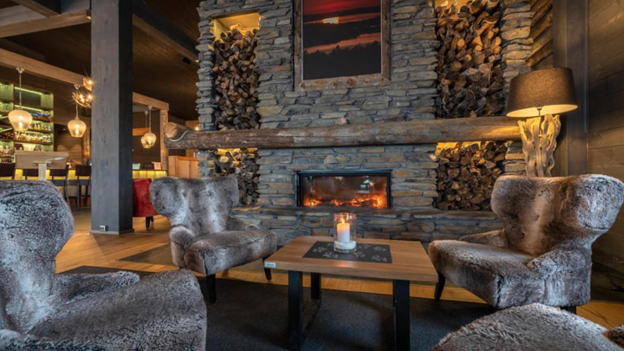 Wilderness Inari Hotel, Lobby