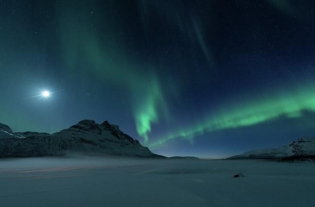 Espectáculo mágico de las Auroras Boreales