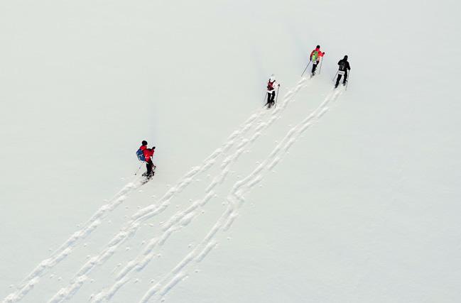 Excursión en raquetas de nieve