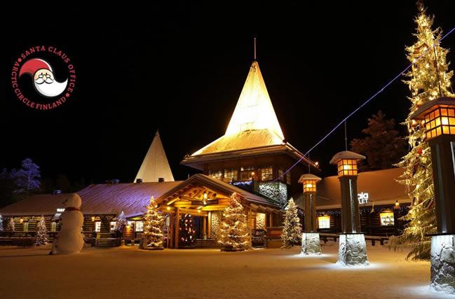 La casa de Santa Claus