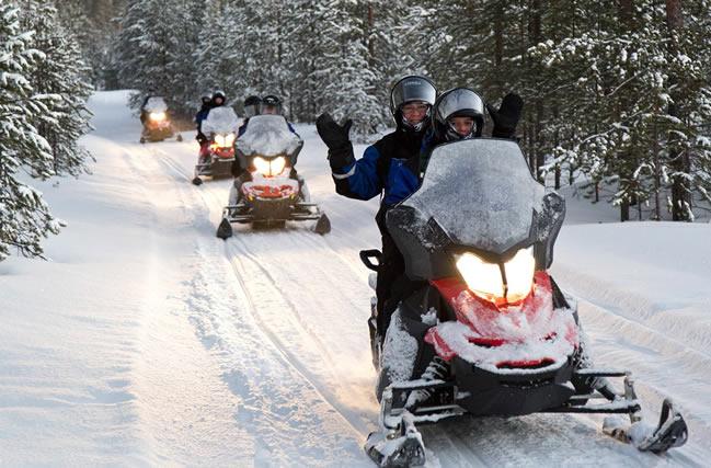 Motos de nieve, Nellim