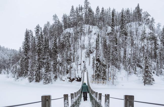 Parque Nacional de Oulanka, Laponia (Finlandia)