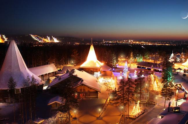 Rovaniemi, ciudad de Santa Claus